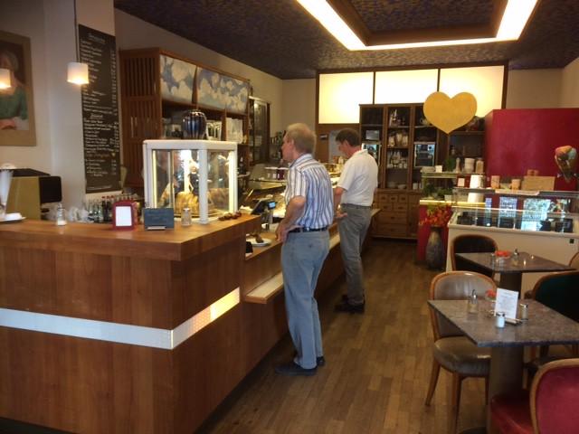Inside Café KönigX