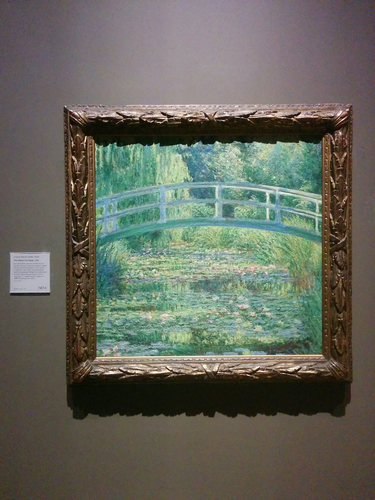 Claude Monet, The Water-Lily Pond.