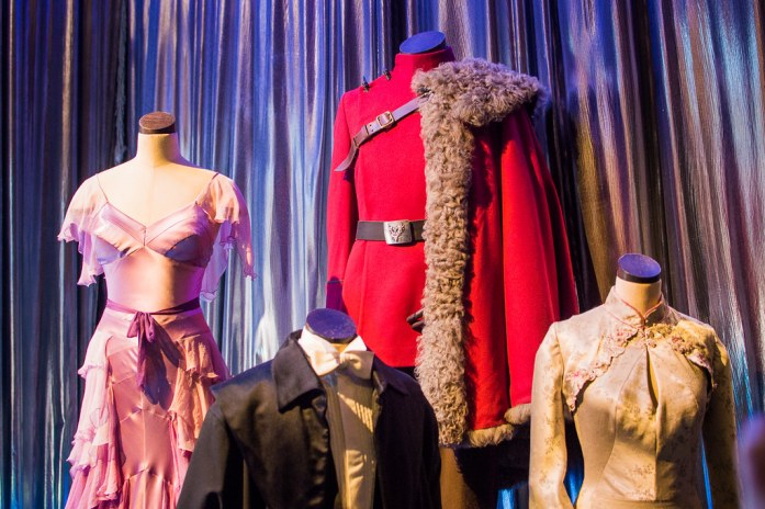 Yule Ball Costumes Warner Bros Studio London