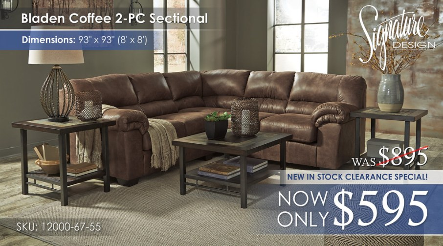Bladen 2PC Sectional 12000-55-67-T053