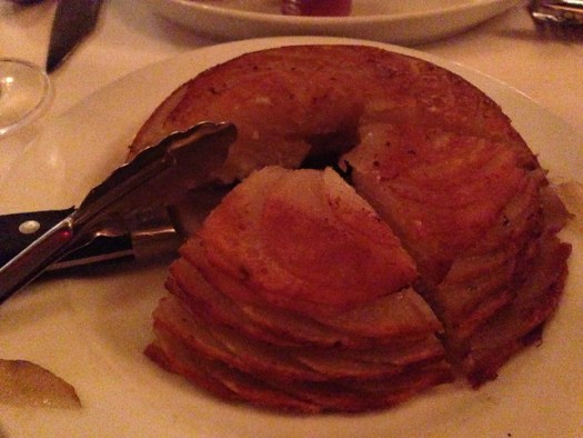 Potatoes Anna at Jeff Ruby's Steakhouse, Cincinnati OH