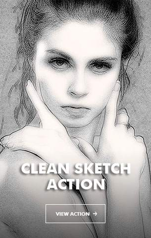Special Sketch Photoshop Action - 109