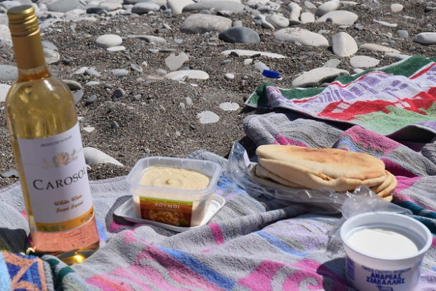 Picnic at Aphrodite's Rock