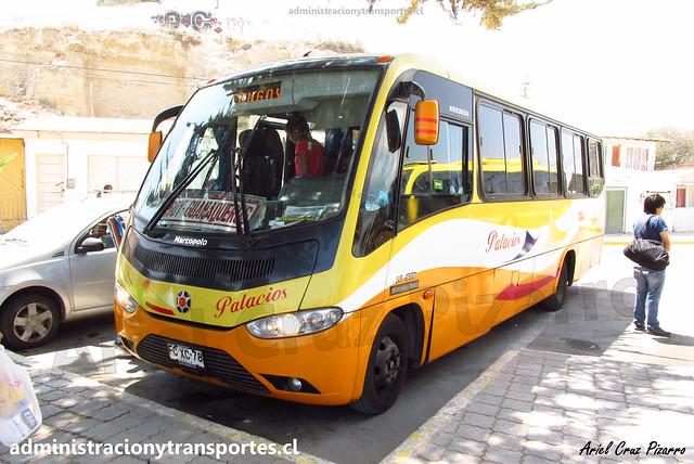 Buses Palacios | Tongoy | Marcopolo Senior - Mercedes Benz / FCXC78