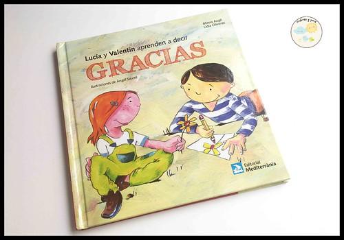 Libro Lucía y Valentín aprenden a decir gracias. Reseña