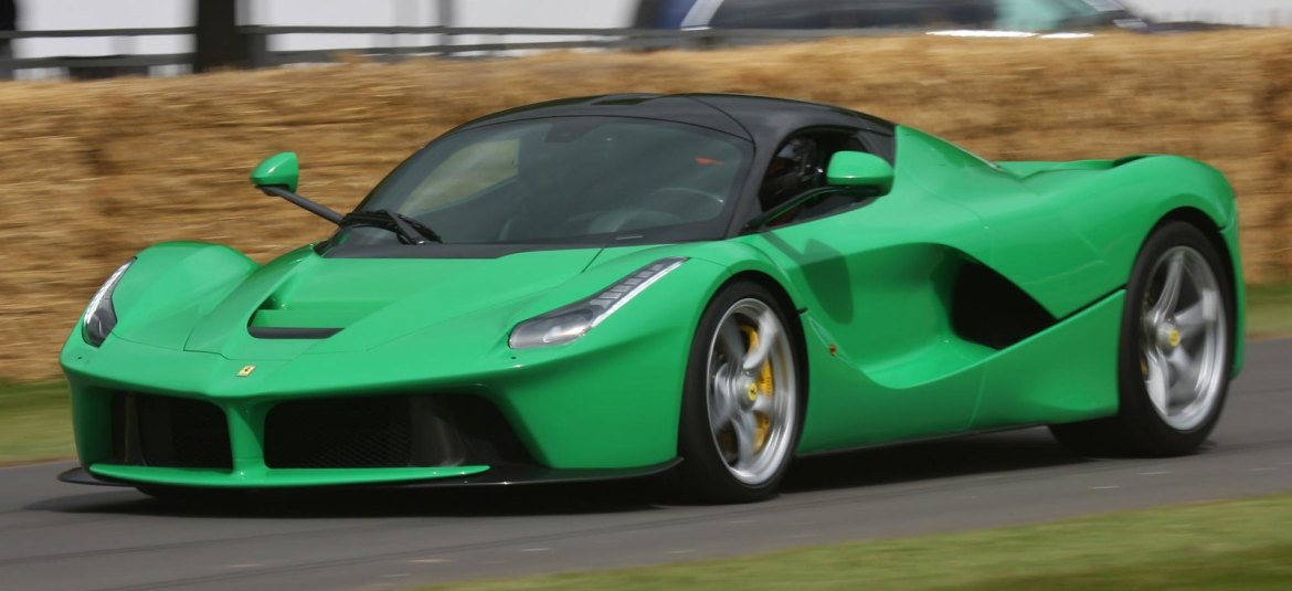 JK`s LaFerrari - GoodwoodFestival of Speed 2014
