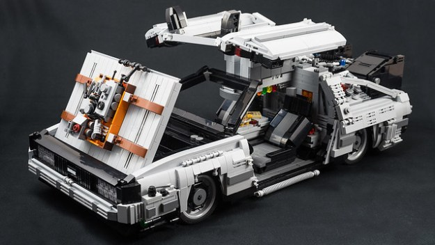 Travel through time in style with a DeLorean | The ...