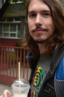 Kyle with coffee dream