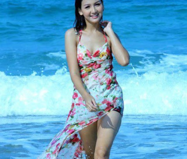 Myanmar Model Girl With Swimming Suite  By Zhwz