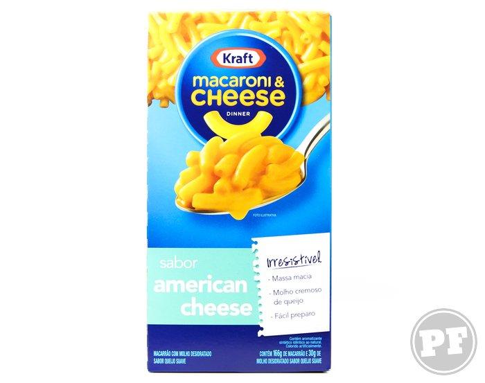 Mac & Cheese da Kraft por PratoFundo.com