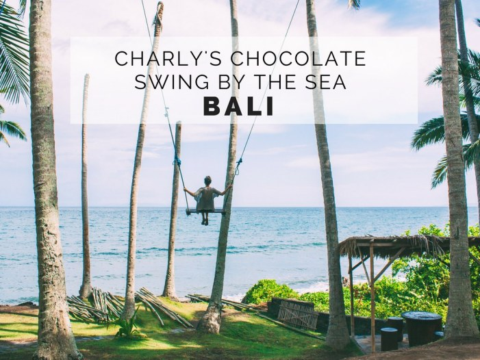 Charly's Chocolate Swing By The Sea | Eastern Bali Near Candidasa