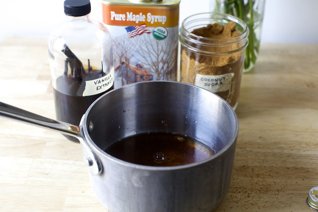 the liquid ingredients taste like a graham cracker
