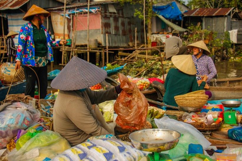 Phong Dien flydende marked