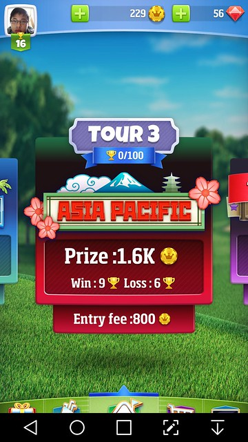 golf clash review tour