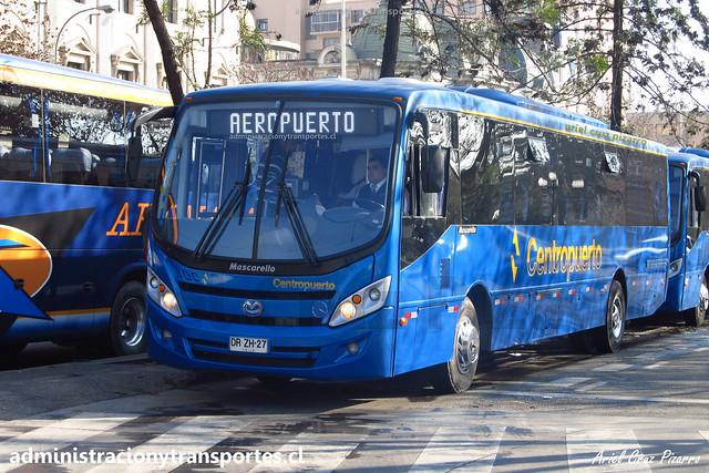 Centropuerto   Santiago   Mascarello Gran Midi - Mercedes Benz / DRZH27