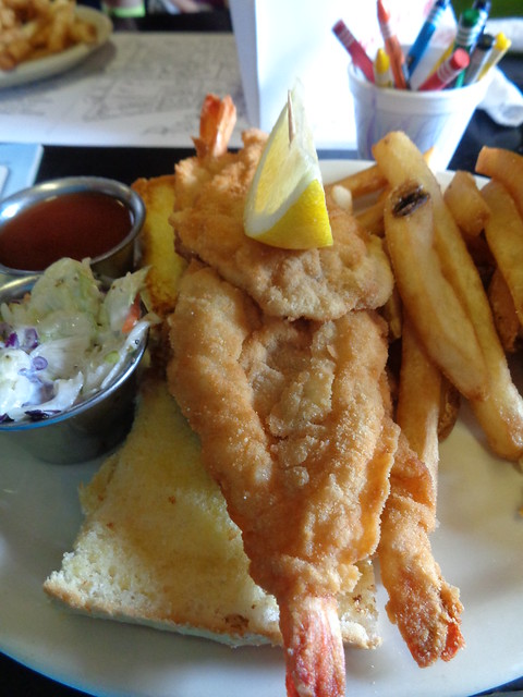 Shrimp Buster at Herby K's, Shreveport LA