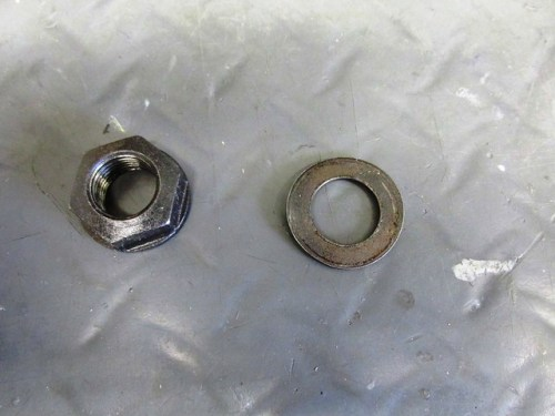 Output Flange Nut and Washer