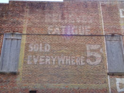 5 cent Coca-Cola Mural, Demopolis AL