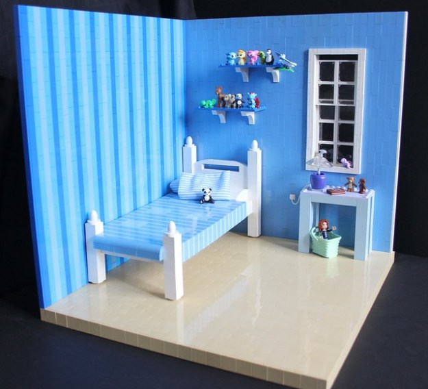 The Toy Collector's Bedroom