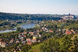 Die Elbe bei Meißen