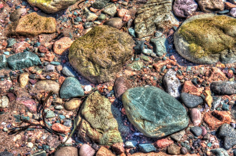 Rocks from Bay of Fundy Explored.