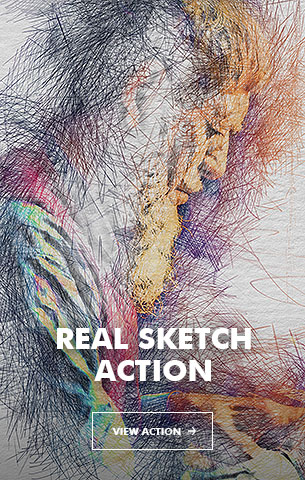 Special Sketch Photoshop Action - 105