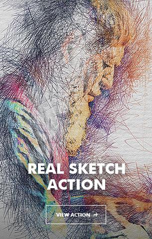 Wet Ink Photoshop Action - 105