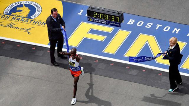 Kirui gana el Maratón de Boston 2017