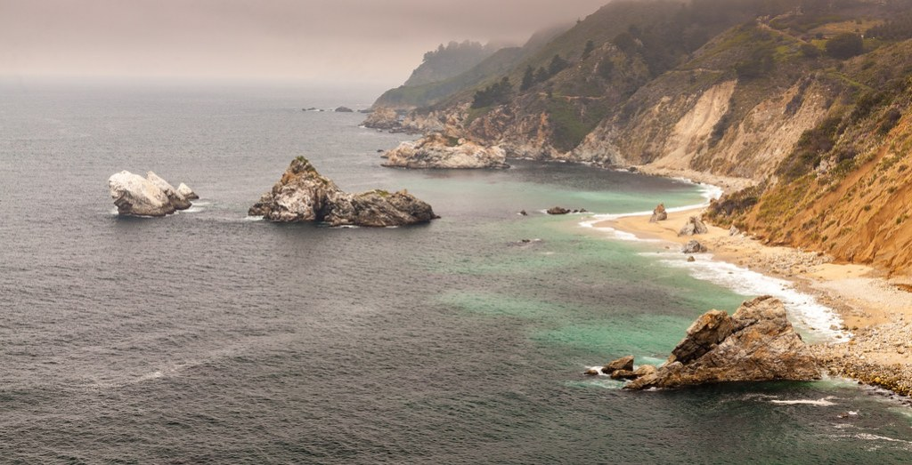 Coastline, McWay Falls, California