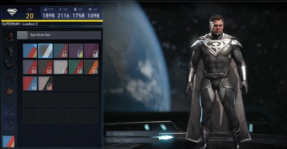 Injustice 2 - Superman Sacrificial Son