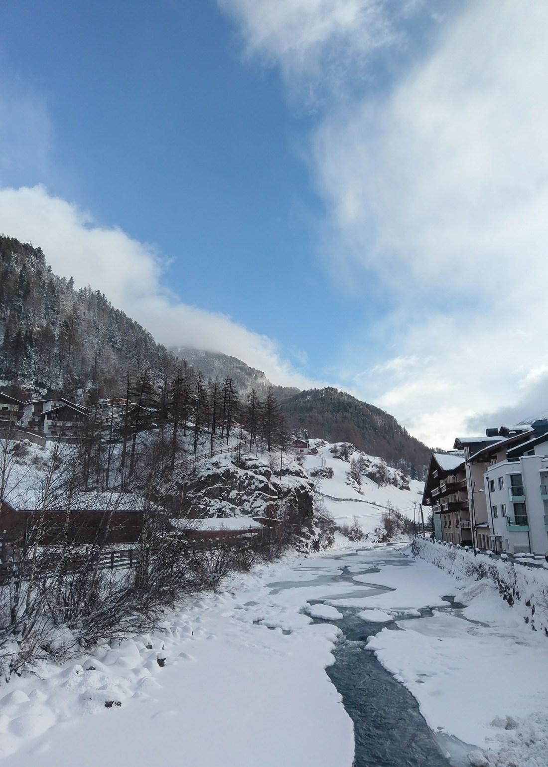 Solden River - Austria