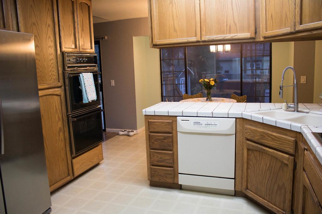 My clean kitchen!
