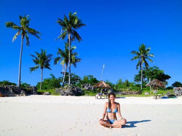 Paradise beach en Filipinas