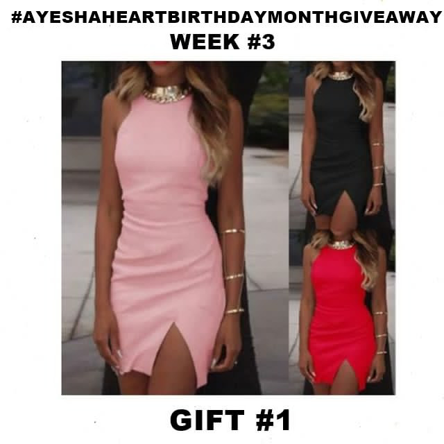 AyeshaHeart Birthday Month Giveaway WEEK3A