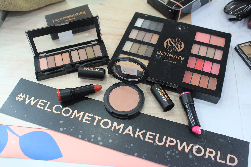 MakeUpWorldPH Swatch Party at Serendra