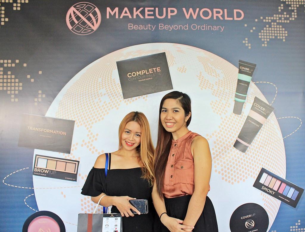 AyeshaHeart at MakeUpWorldPH