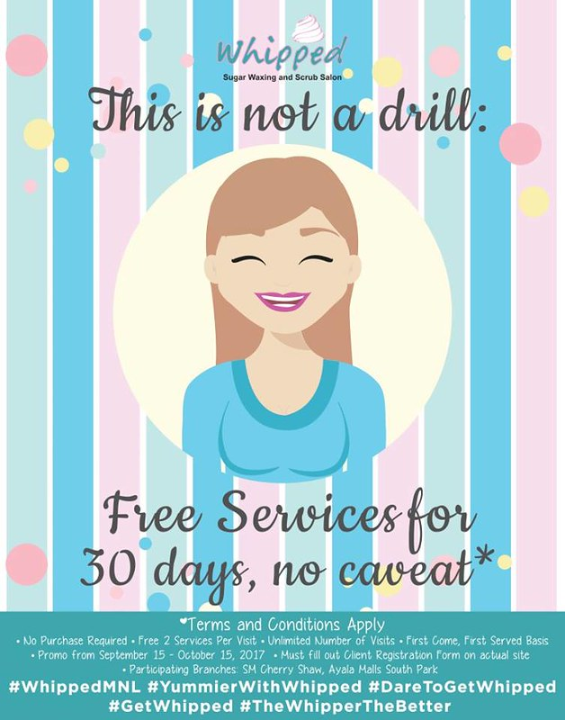 Free services at Whipped Salon 30 Days | AyeshaHeart.com