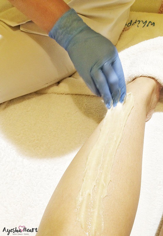 Hair removal with Sugar Waxing at Whipped Salon