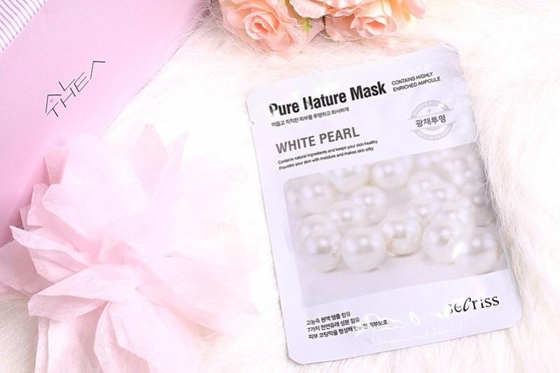SECRISS PURE NATURE MASK WHITE PEARL