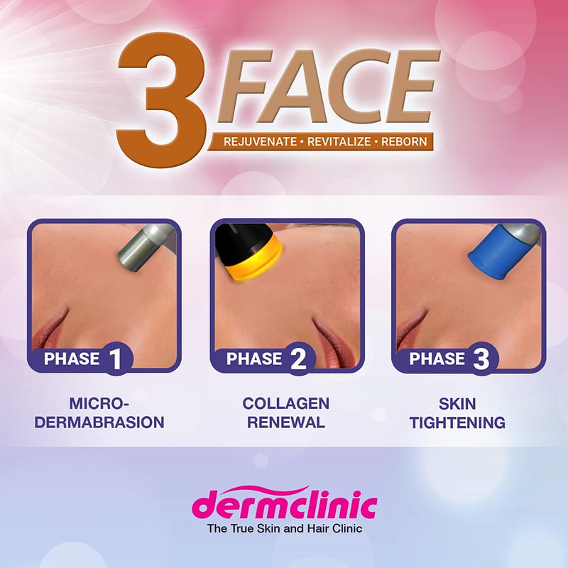 Dermclinic 3 Face Treatment