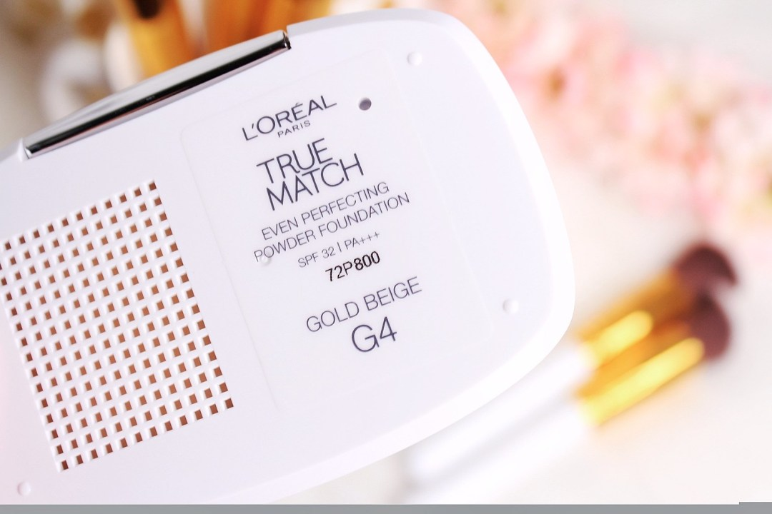 L'oreal True Match Even Perfecting Power Foundation in G4 Gold Beige