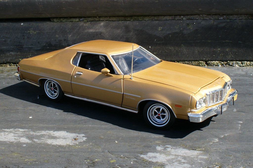 Ford Gran Torino 1976 3 Very Well Finished Miniature In