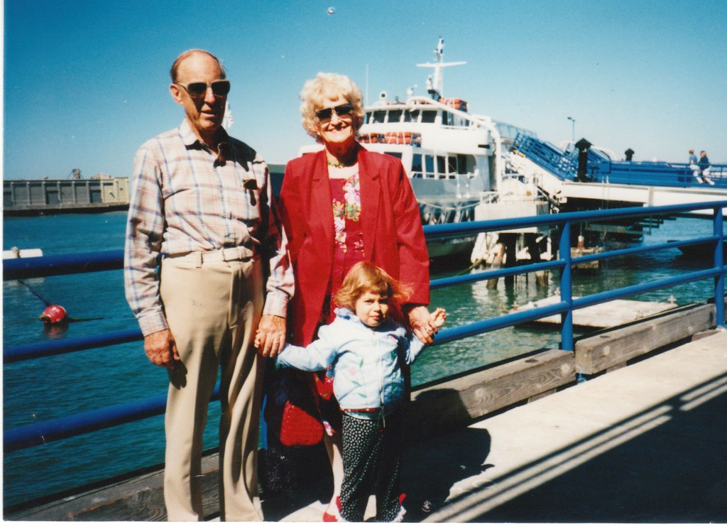 Me with My Grandparents