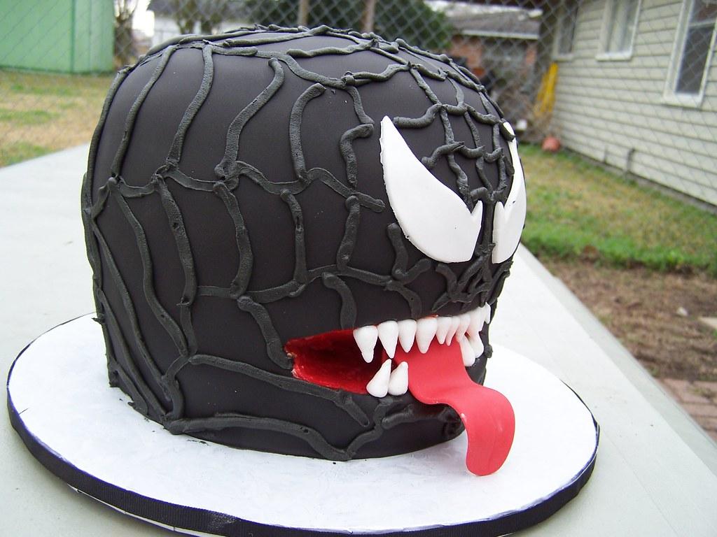 Venom Head Cake Side View Tawnya Torres Flickr