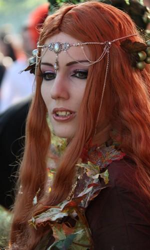 Medieval Maiden Taken At Wave Gotik Treffen Friday 21st