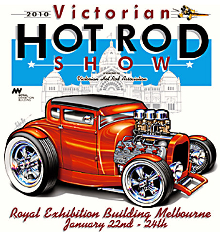 Victorian Hot Rod Show 2010 Official Poster For 2010