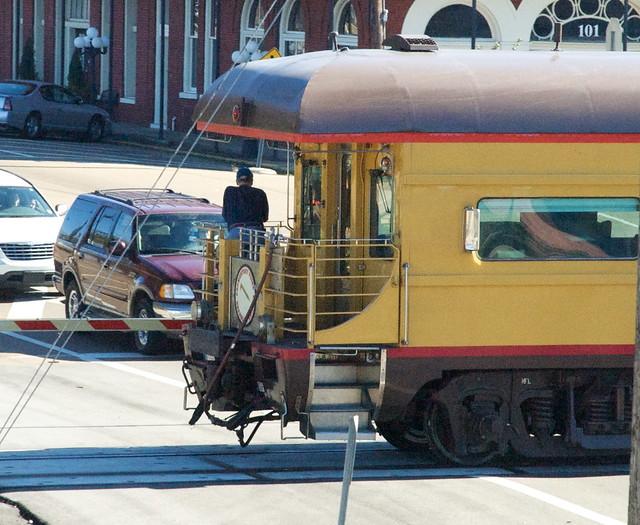 Private Rail Car Promontory Point Open Rear Platform