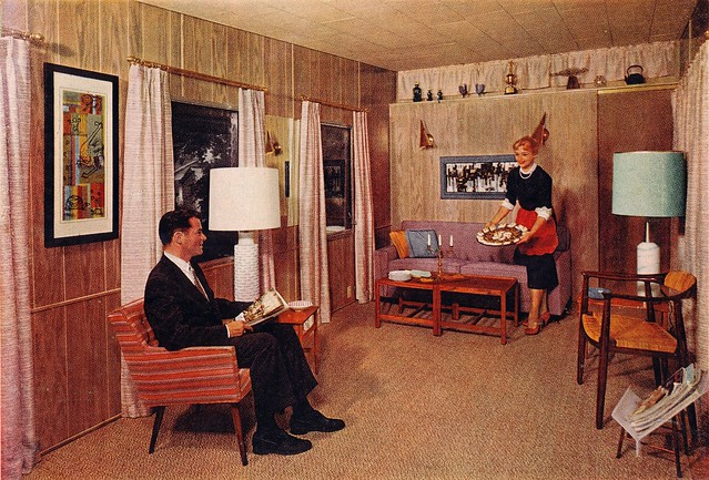 ITS1959 Mobile Home Interior Life Magazine Ad By