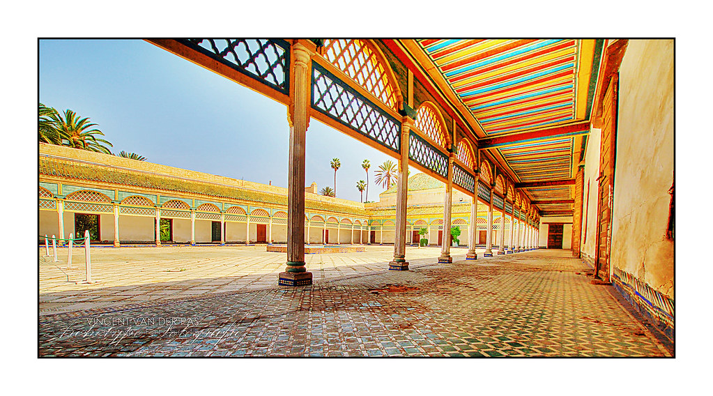 Marrakech Colourful Old Palace El Bahia Palace Best