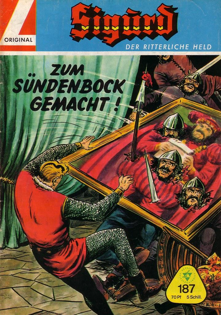 Sigurd 187 Sigurd Heft Reihe Zum S 252 Ndenbock Gemacht